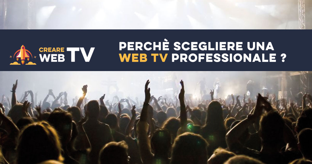 CREARE WEB TV Professionale