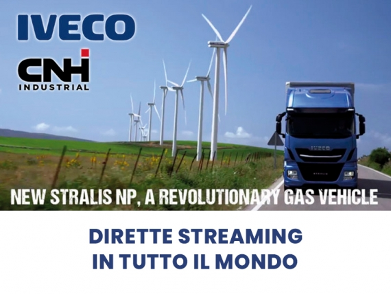 IVECO CNH Industrial ha scelto CREARE WEB TV per le sue Dirette streaming in tutto il mondo